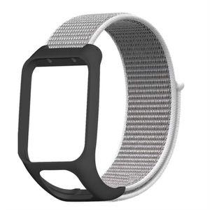 MONTRE Luxe Nylon Sport Boucle montre bracelet bande pour