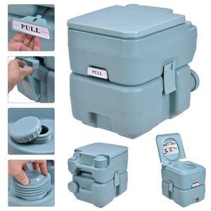 WC - TOILETTES Toilette Portable WC Chimique 20L pour Voyage Camp
