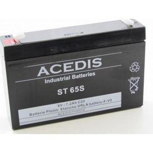 Cher Batterie 7ah Vente 6v Achat Pas fYgbvI76ym