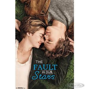AFFICHE - POSTER Nos Etoiles Contraires - The Fault in our Stars -