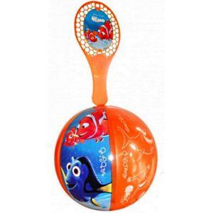 BALLE - BOULE - BALLON LOT 10 TAP BALL NEMO BALLON 20CM+RAQUETTE DISNEY
