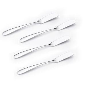 YAOURTIÈRE - FROMAGÈRE  Ensemble de Couteaux à tartiner (4 pièces) Ensemb