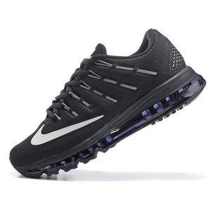 Homme Nike Air Max 2016 Noir Blanc Chaussures