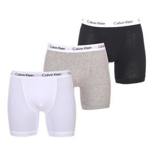 BOXER - SHORTY Lot de 3 boxers Calvin Klein en coton stretch noir 34bf7399cfc