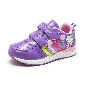 baskets Enfants ChaussuresGarçon Jeunes filles Bébé Chaussures de sport Stickers magiques q1SHB8Xp