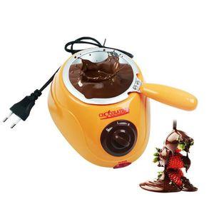 MOULIN À CAFÉ Machine à fondre électrique à fondue au chocolat