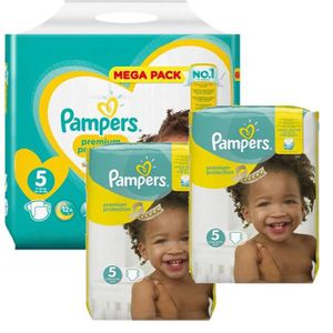 COUCHE Giga Pack 315 Couches Pampers New Baby - Premium P