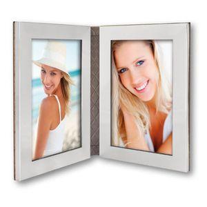 cadre photo double achat vente cadre photo double pas cher cdiscount. Black Bedroom Furniture Sets. Home Design Ideas