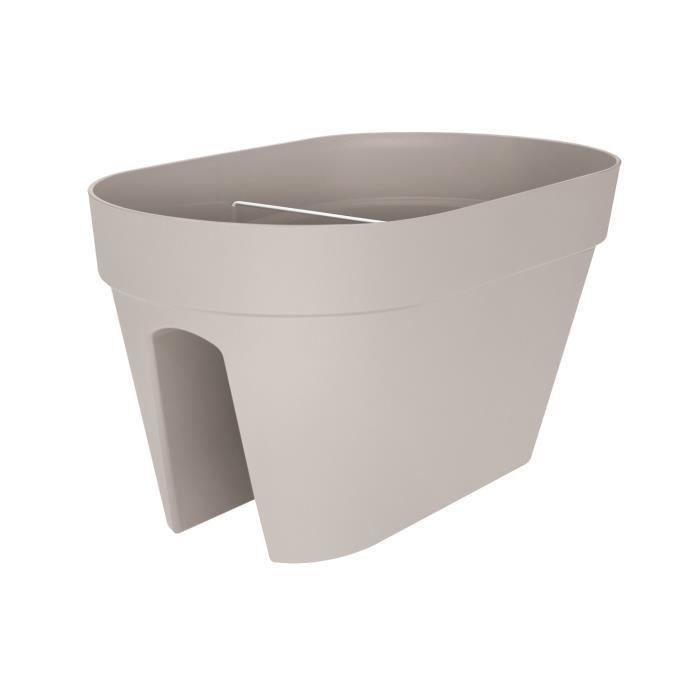 LOFT URBAN Pot cavalier - Ø 50 cm - Gris chaud