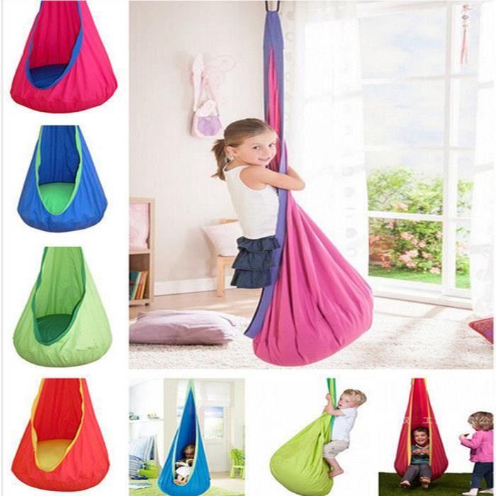 hamac chaise balan oire d 39 int rieur fauteuil suspendu ext rieur pour enfants achat vente. Black Bedroom Furniture Sets. Home Design Ideas