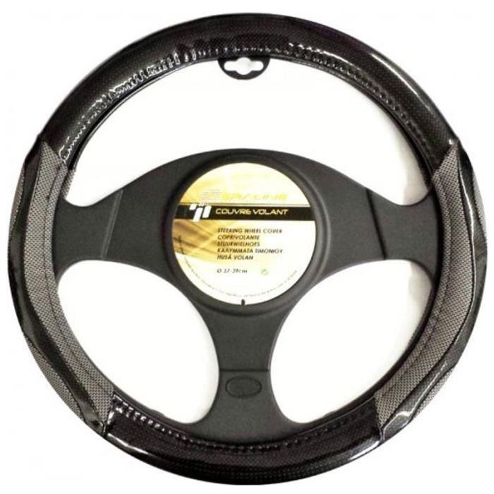Couvre Volant pour Nissan Juke Style Carbone - 3548 - Achat   Vente ... d77e4d747bc5