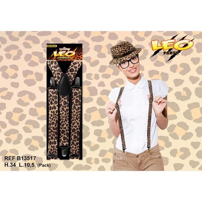 81e0d26a8818 Bretelles - Collection léopard - - Achat   Vente accessoire ...