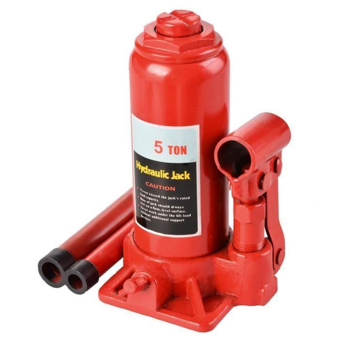 CRIC 5 tonne cric bouteille Jack hydraulique HOMDOX rép