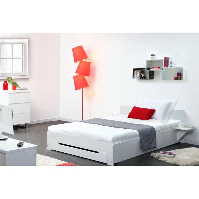lit 1 personne achat vente lit 1 personne pas cher cdiscount. Black Bedroom Furniture Sets. Home Design Ideas