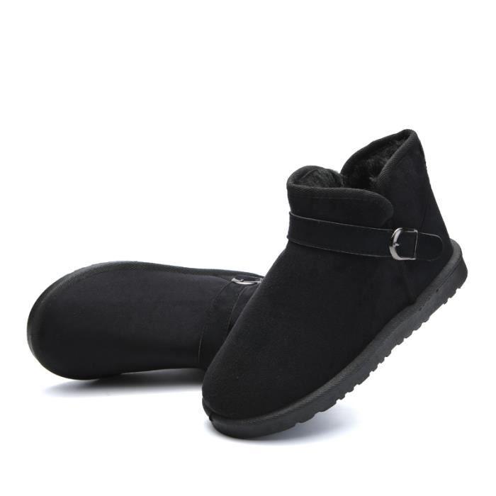 e4e5d30593d04 JOZSI Bottine Homme Comfortable Classique Chaussure Hommes FXG-XZ218Noir39 Noir  Noir - Achat   Vente bottine - Soldes  dès le 27 juin !