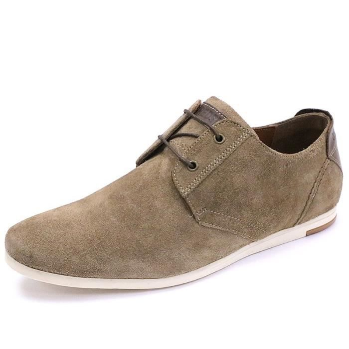 Chaussures Nail Cuir Marron Homme Redskins