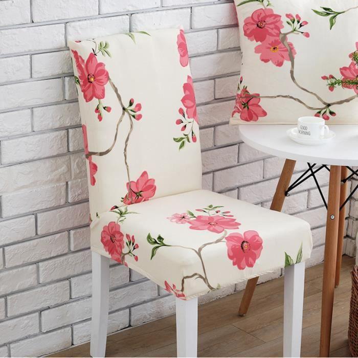 HOUSSE DE CHAISE SHLK 1PCS-Coussin de chaise élastique, Housse de c