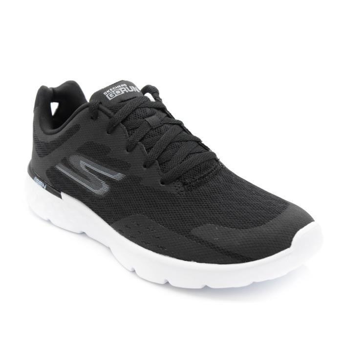 Skechers Basket homme Go Run 400 54353 noir-blanc T. 46