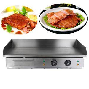 PLANCHA DE TABLE 4400w 73 X 37 cm Plancha électrique Chop Plate Com