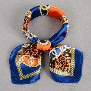 ECHARPE - FOULARD Écharpe Femmes imprimant un foulard carré Bleu fon