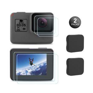 PACK APP. ARGENTIQUE  Protection Écran GoPro Hero7 Noir/2018/6/5 Ecran