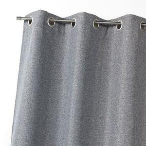 RIDEAU Panneau 140x260cm occultant - gris
