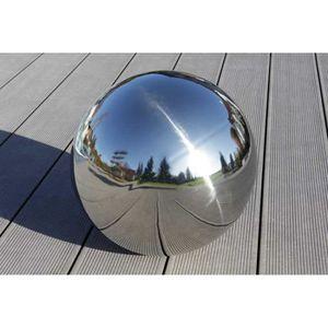 BALLE - BOULE - BALLON Boule déco boule de jardin d'acier inoxydable Sfer