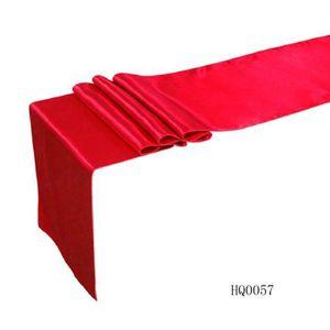 CHEMIN DE TABLE HY 12 X 108 (30Cm * 250Cm) Satin Chemin De Table D