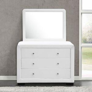 Commode avec miroir chambre - Achat / Vente Commode avec miroir ...