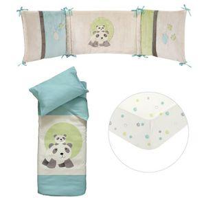 tour de lit bébé panda Parure 60x120   Achat / Vente pas cher tour de lit bébé panda