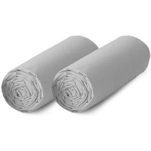 DRAP HOUSSE TODAY Lot de 2 draps housse 100% coton - 140x190 c