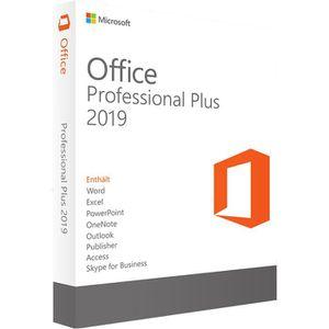 BUREAUTIQUE À TÉLÉCHARGER Office 2019 Pro Plus pour PC Version a telecharger