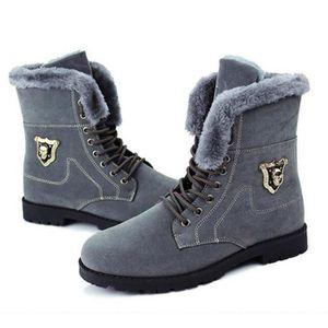 Hommes bottes 2016 nouvelle arrivée bottes d'hiver de neige chaude bottes de mode plate-forme cheville bottes Hommes chaussures lvjkQv