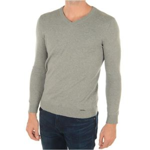PULL Pull laine M64R16 -GUESS JEANS Gris Homme