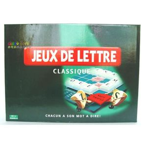 JEU SOCIÉTÉ - PLATEAU Scrabble Original Board Game - Version Français