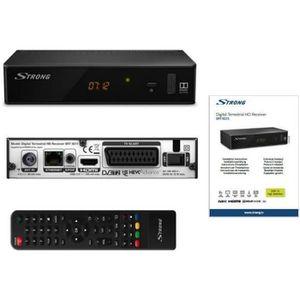 RÉCEPTEUR - DÉCODEUR   STRONG SRT 8211 Décodeur TNT Full HD -DVB-T2 - Com