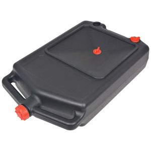 HUILE TRANSMISSION vidaXL Récipient portable à huile usée 10 L