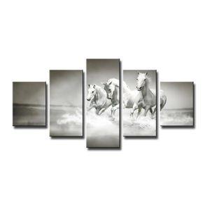 TABLEAU - TOILE 160 x 80 cm impression sur toile cheval 5549-SCT p