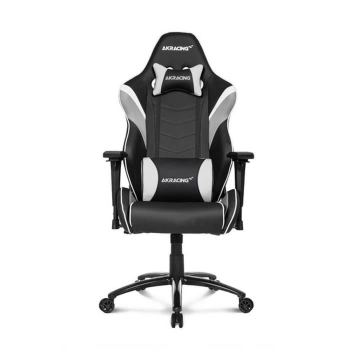 AKRACING Series Core LX - AKLXWT - Siège Confort pour Gamer finition cuir - Blanc