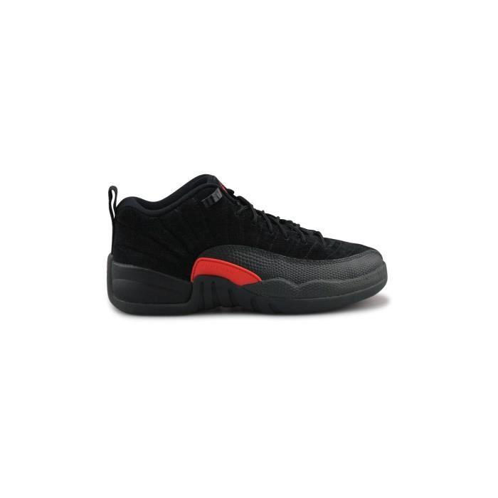 Basket Air Jordan 12 Retro Low Junior Noir 308305-003