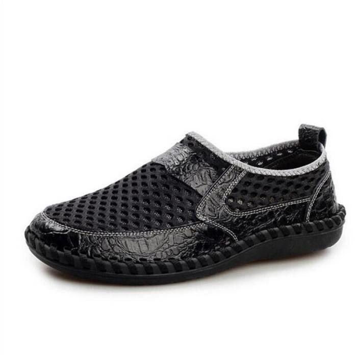 chaussures homme Marque De Luxe hommes Qualité Supérieure Moccasin Nouvelle Mode Durable Confortable Grande Taille Loafe 38-44