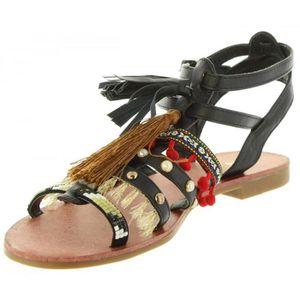 MTNG Sandales pour Femme 58881 C18382 Negro Taille 37 CCiGGtz