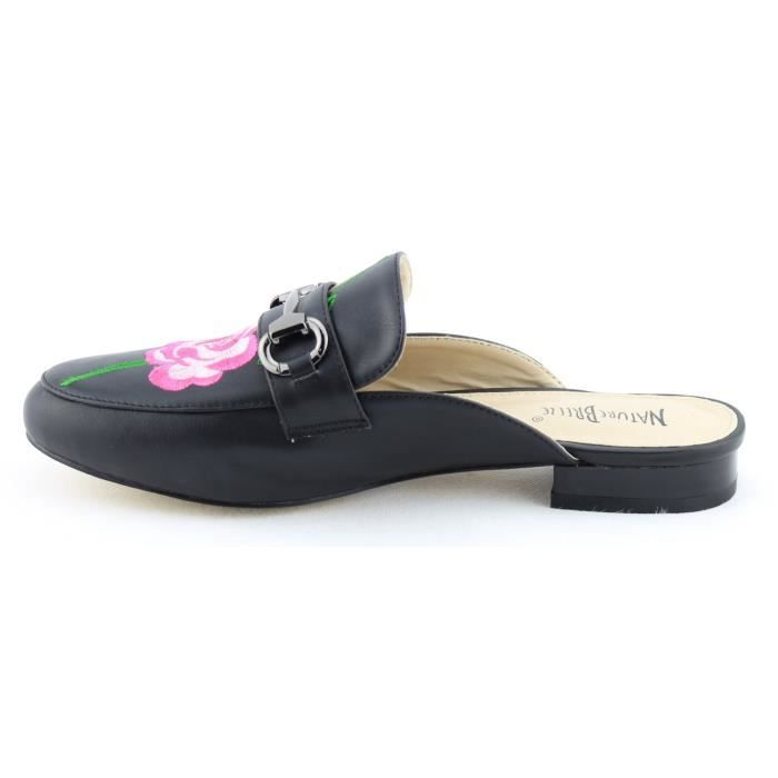Chaussures de mode Slip-on Mule Diaporama Mocassins Appartements OV6IO Taille-41