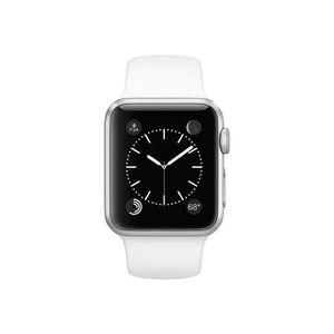 BRACELET MONTRE CONNEC. Apple Watch Sport 38 mm Aluminium case Silver
