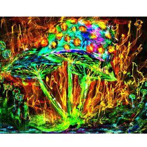 TABLEAU - TOILE Peinture au diamant 5D peintures strass collé plei