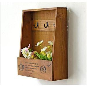 ARMOIRE - BOITE A CLÉ Armoire à clés -Boîte à clés Murale en Bois (Style