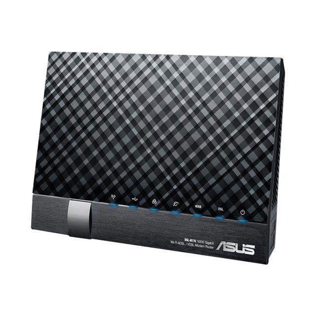 ASUS Routeur sans fil DSL-N17U - Modem ADSL - Commutateur 4 ports