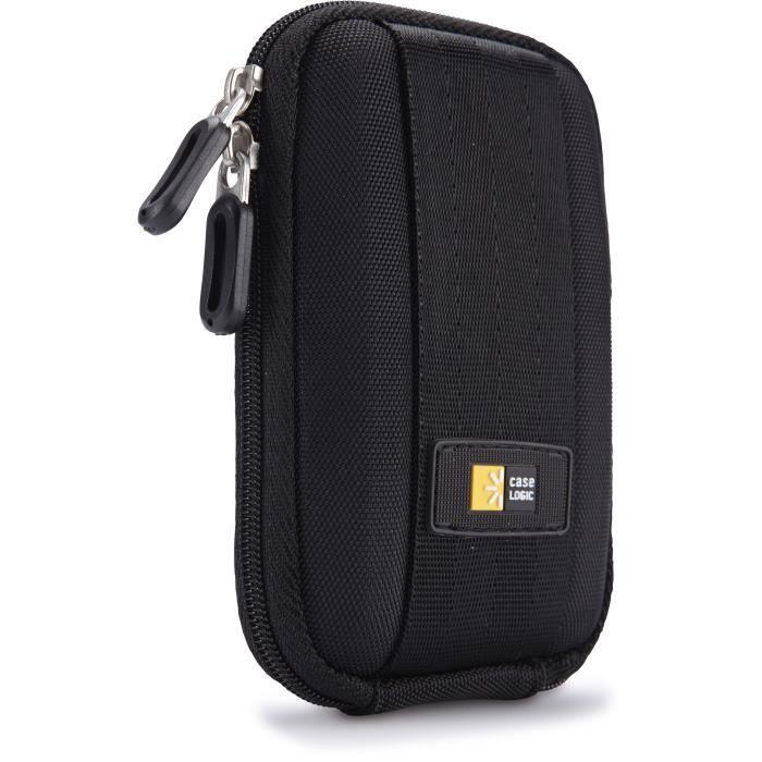 CASE LOGIC QPB301 Etui pour appareil photo compact - Taille S - Noir