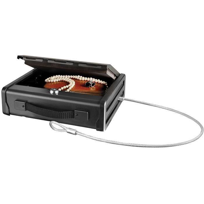 Master lock coffre fort de sécurité compact avec câble de fixation