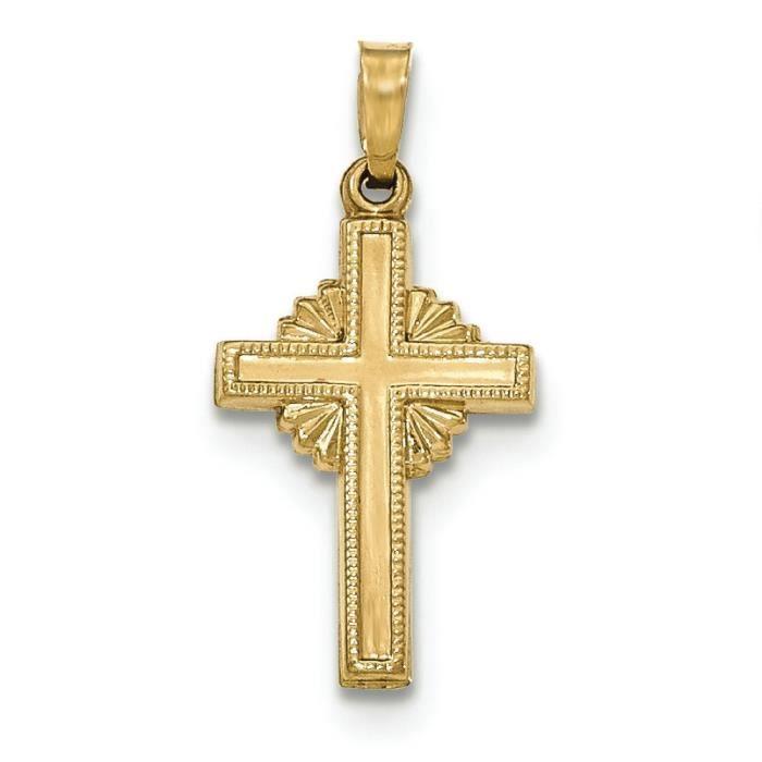 Poli 14 carats-Pendentif celtique croix